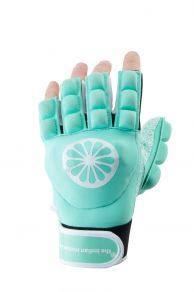 Glove shell/foam half finger [left] - mint