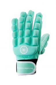 Glove foam full finger [left] - mint