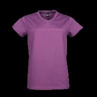 Women Fun Tee Lean - purple