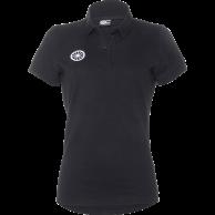 Pique Polo Shirt Women - black