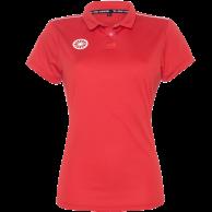 Tech Polo Women - red