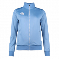 Women Jacket Poly Terry - blue
