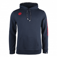Men Hooded Sweat Stretch - navy