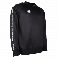 Men Sweater Poly Terry - black