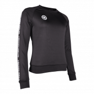 Women Sweater Poly Terry - black