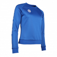 Women Sweater Poly Terry - cobalt