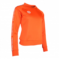Women Sweater Poly Terry - orange