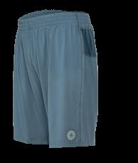 Tech Short Men [knit] - steel blue